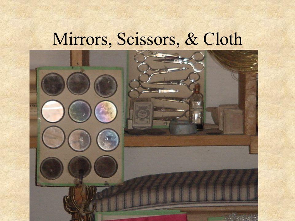 Mirrors, Scissors, & Cloth