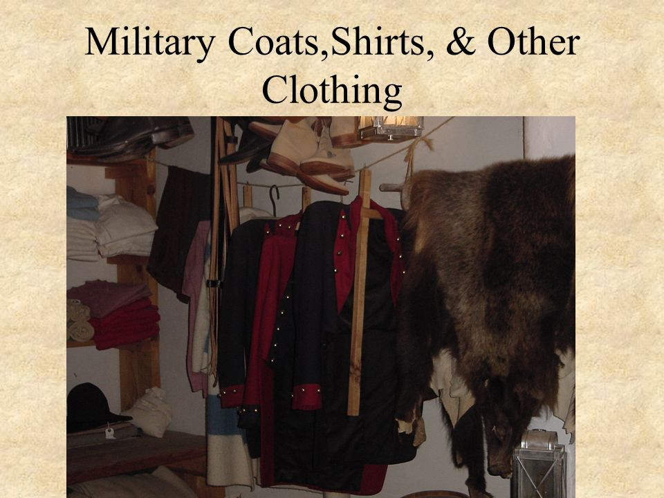 Military Coats,Shirts, & Other Clothing