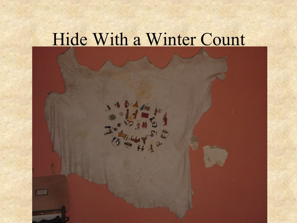 Hide With a Winter Count