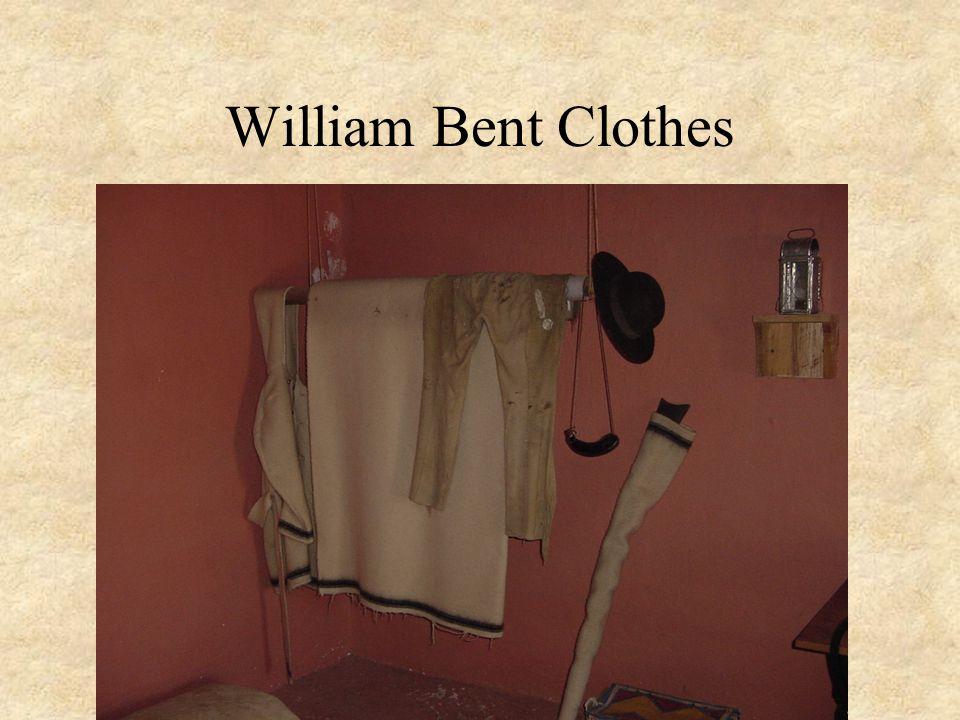 William Bent Clothes