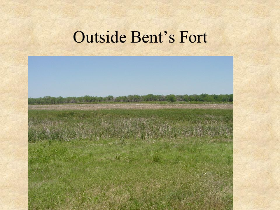 Outside Bent's Fort