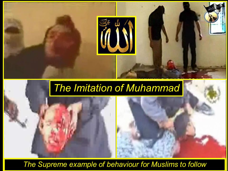 Verse of the Sword …kill the unbelievers wherever you find them. Qur'an 9:5