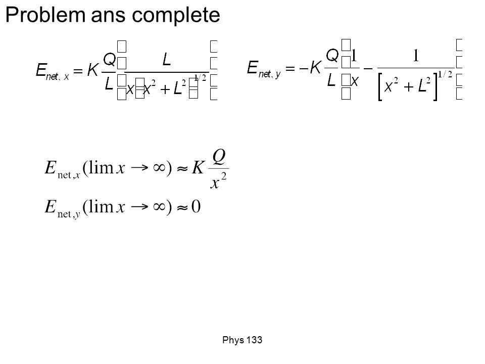 Phys 133 Problem ans complete