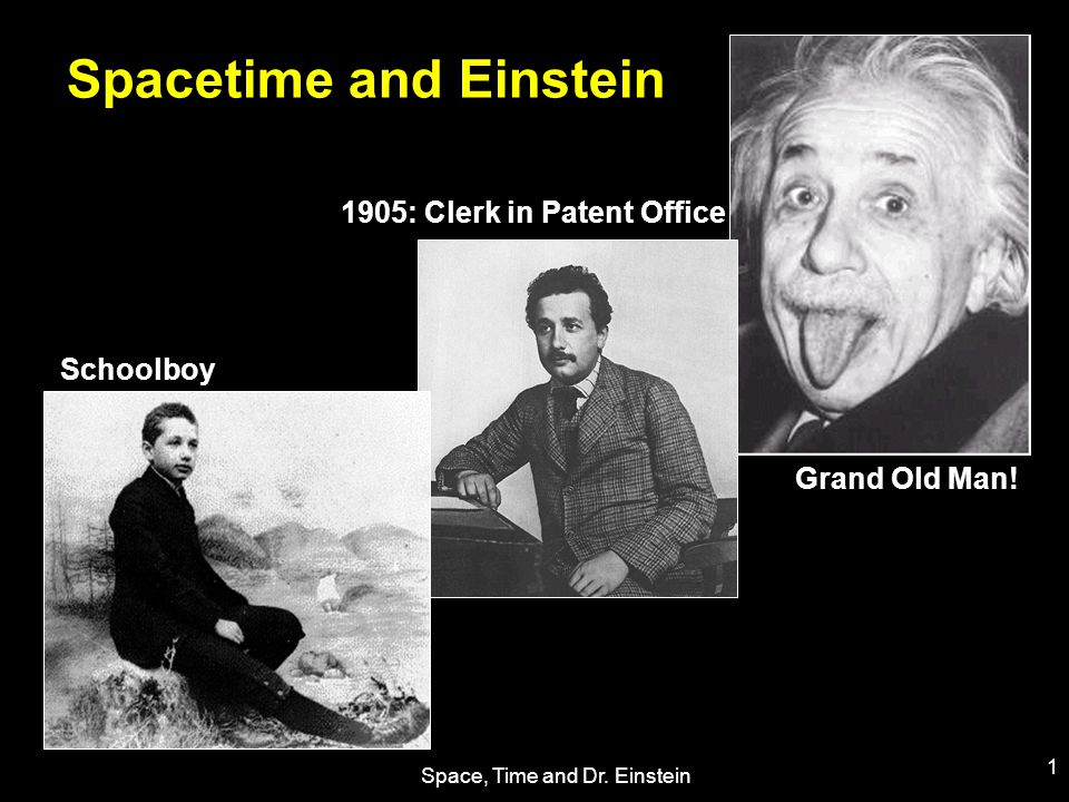 Space, Time and Dr.Einstein 12 The Cosmological Constant Einstein's greatest blunder...