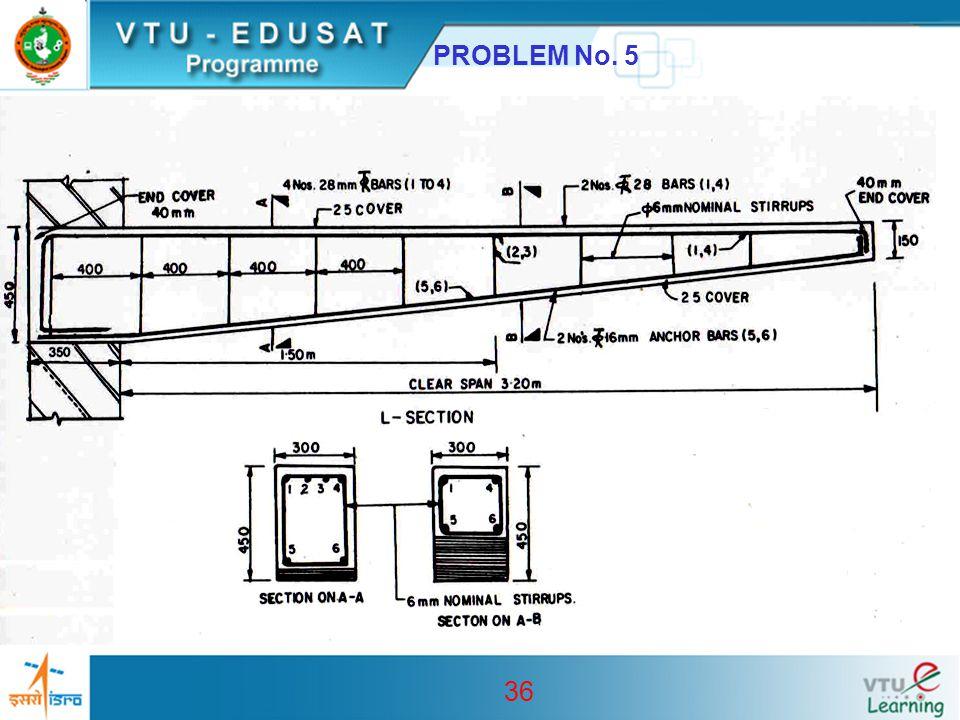 36 PROBLEM No. 5