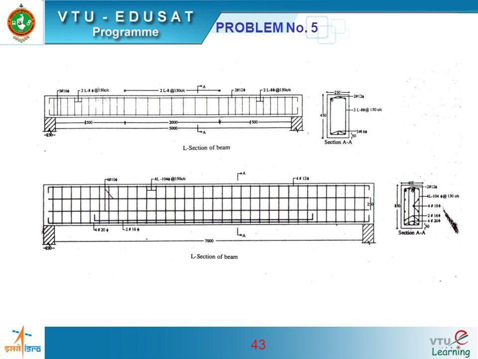 43 PROBLEM No. 5