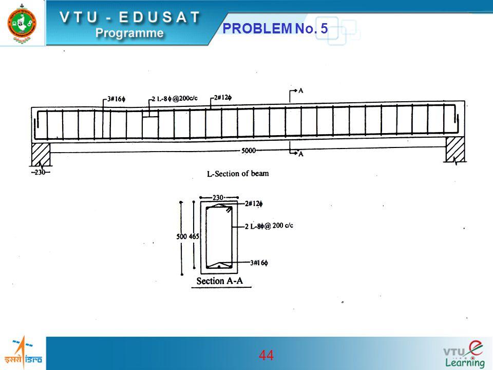 44 PROBLEM No. 5