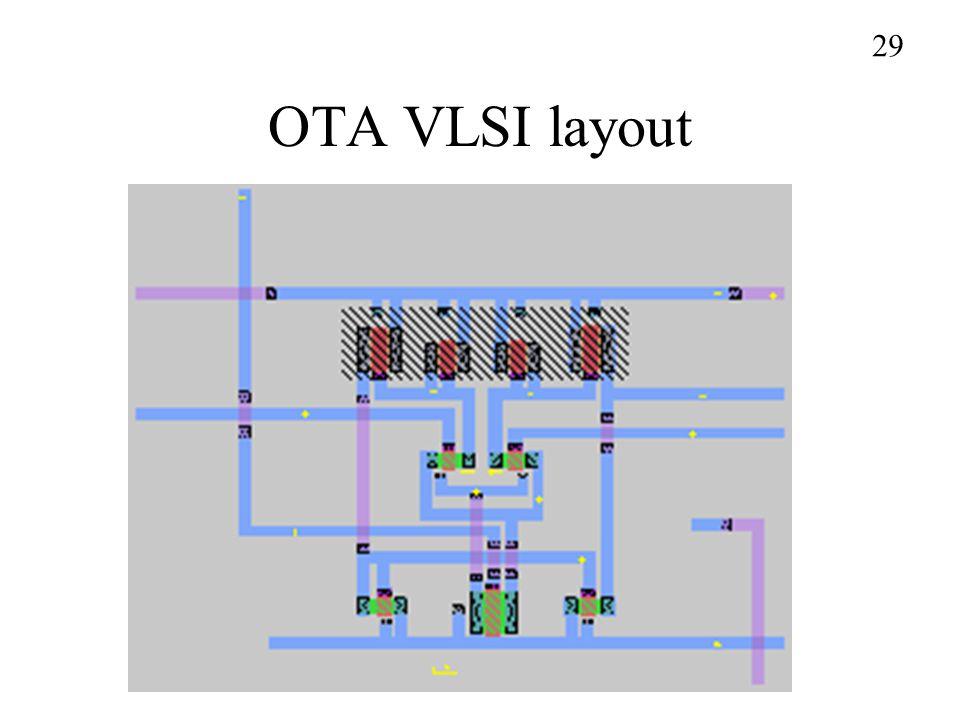 OTA VLSI layout 29