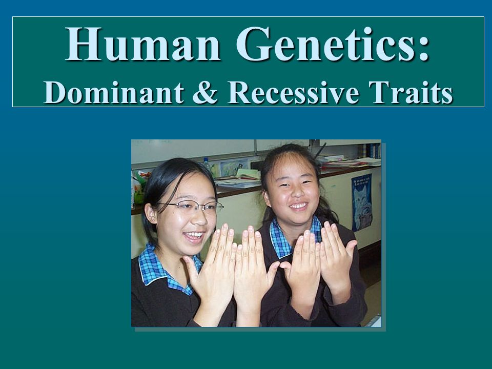 The physical characteristics below are common genetic traits inherited from one generation to the next: The physical characteristics below are common genetic traits inherited from one generation to the next:  Free vs.