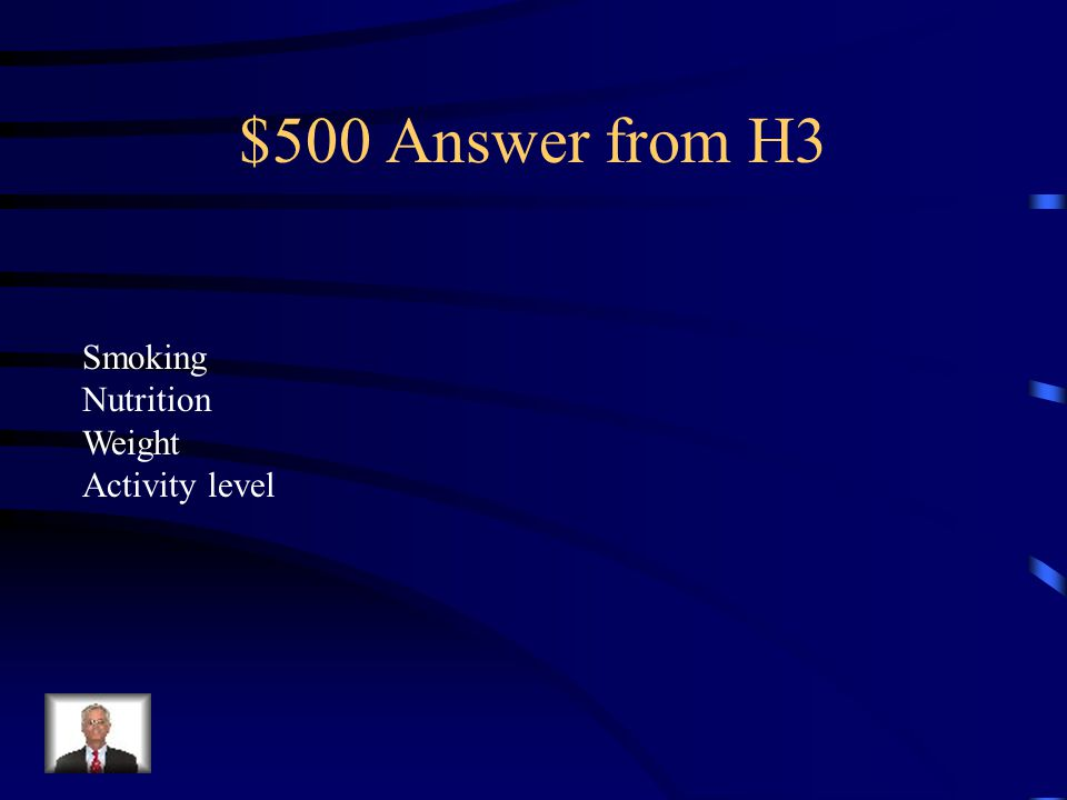 $500 Question from H3 What are some risk factors for heart disease.