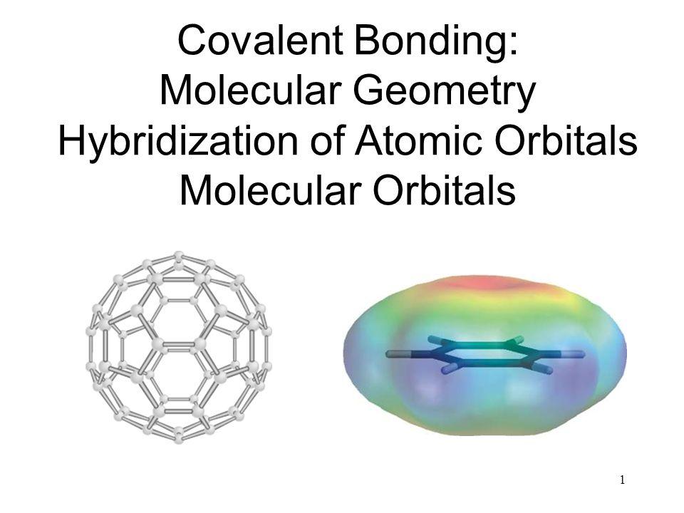 42 Formation of sp Hybrid Orbitals