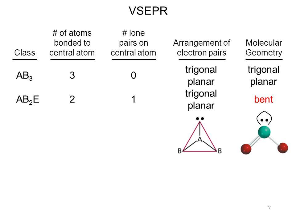38 sp 2 Hybridization of a C atom