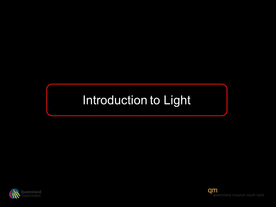 Introduction to Light