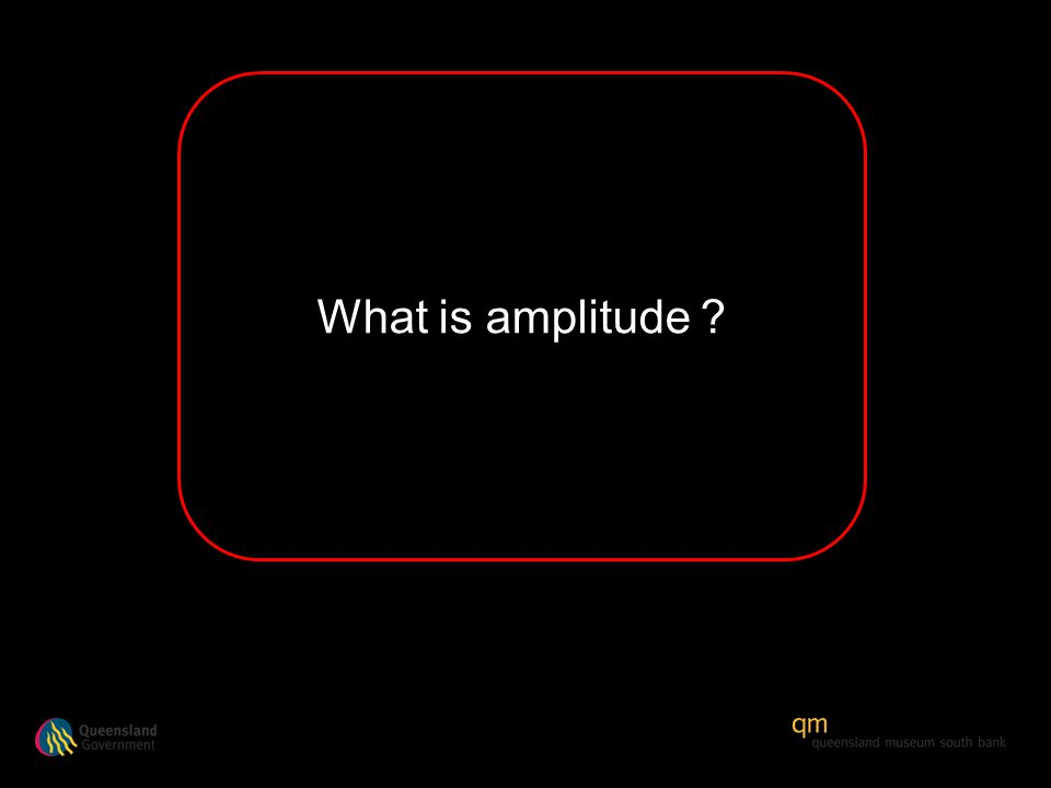 What is amplitude