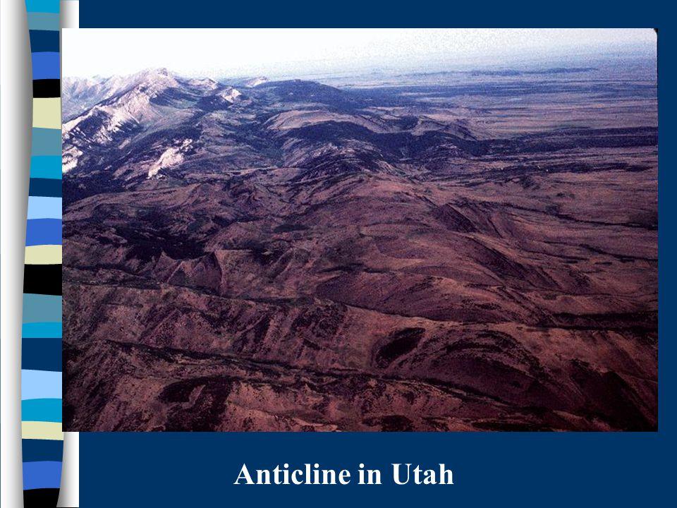 Anticline in Utah