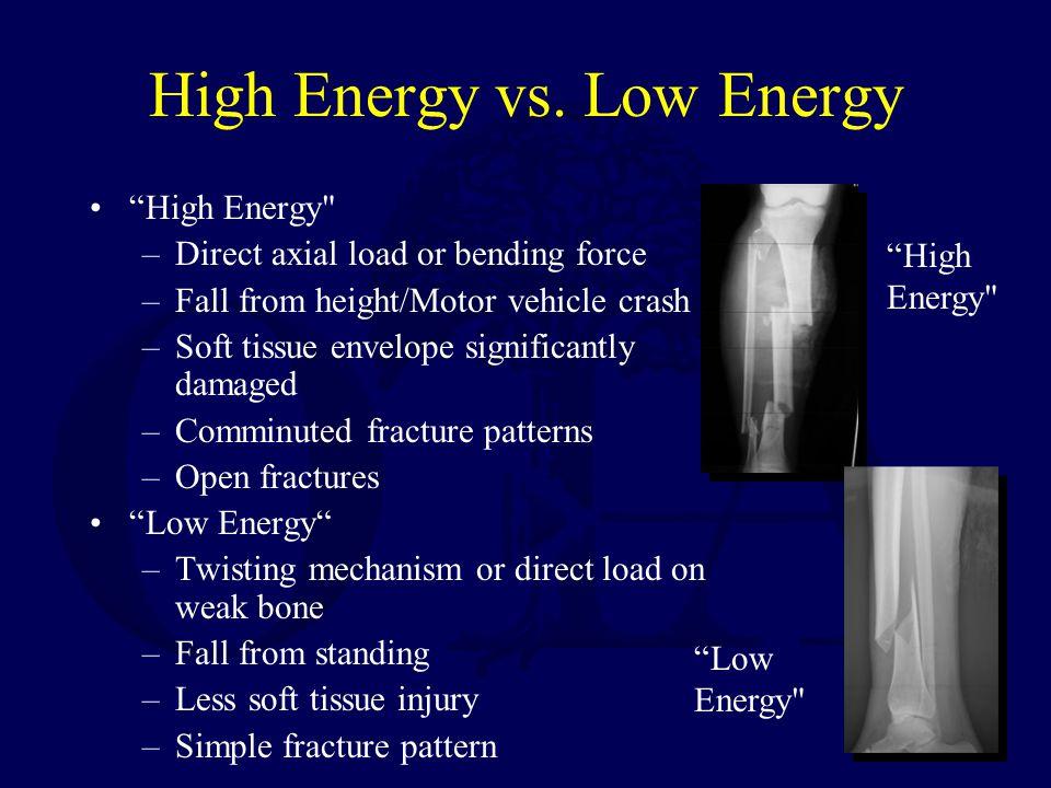 High Energy vs.