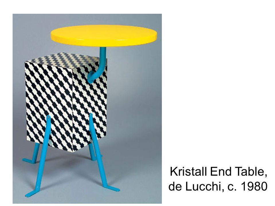 Kristall End Table, de Lucchi, c. 1980