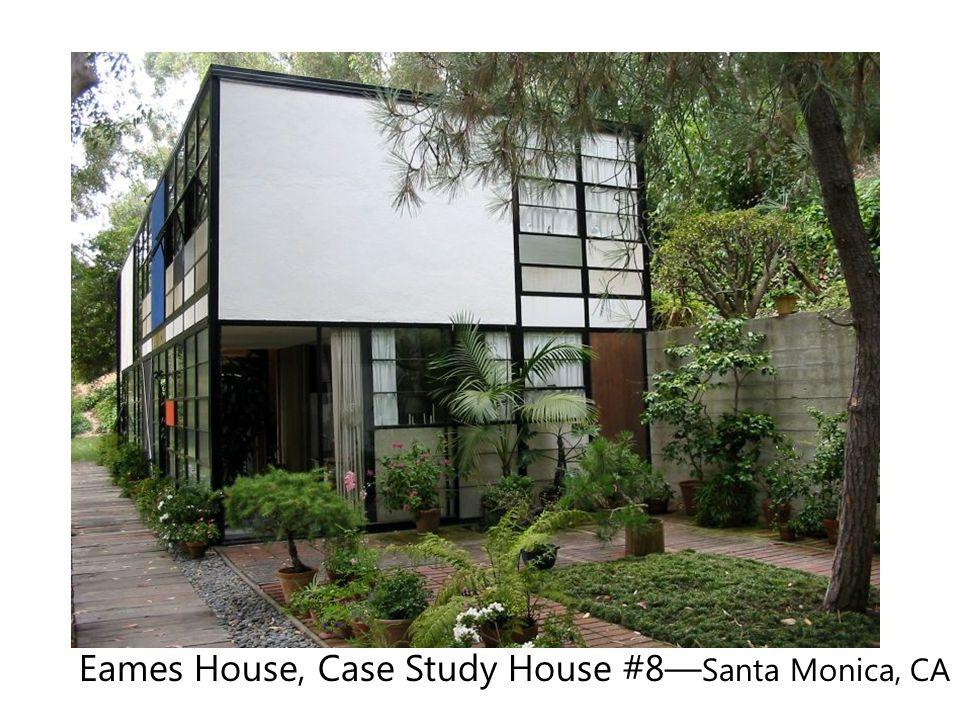 Eames House, Case Study House #8— Santa Monica, CA