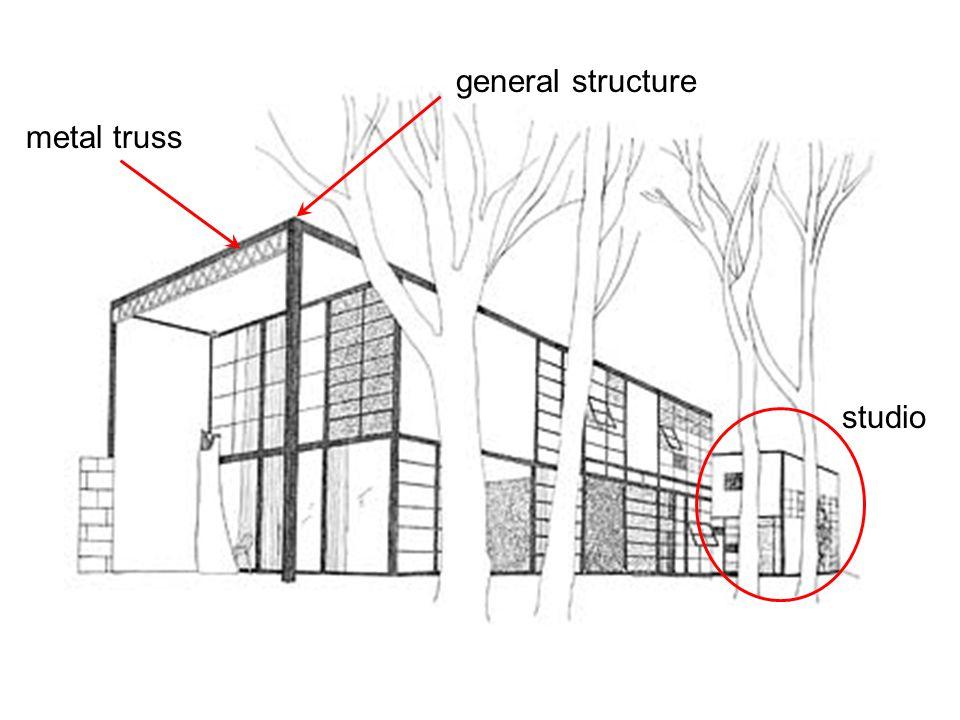 general structure metal truss studio