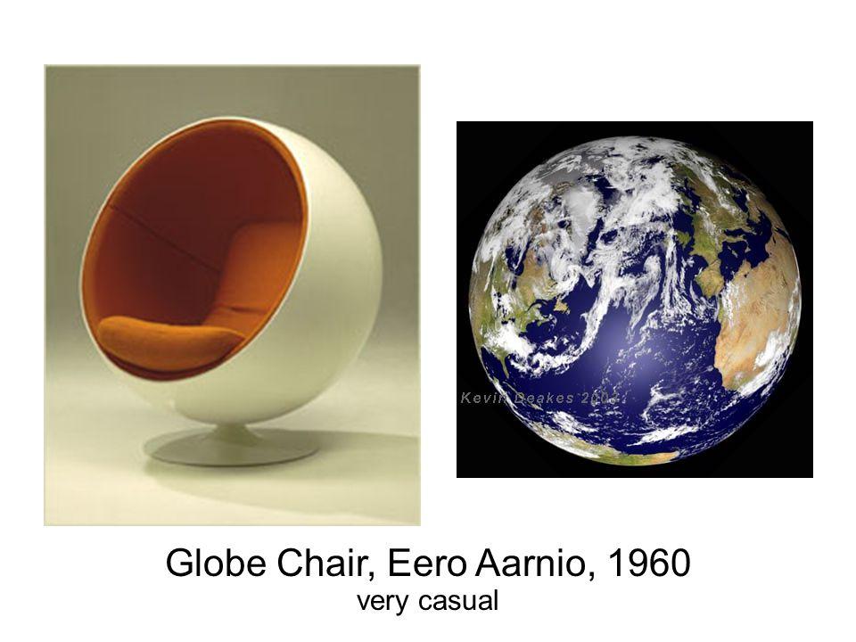 Globe Chair, Eero Aarnio, 1960 very casual
