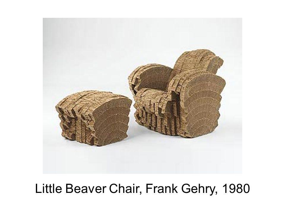 Little Beaver Chair, Frank Gehry, 1980