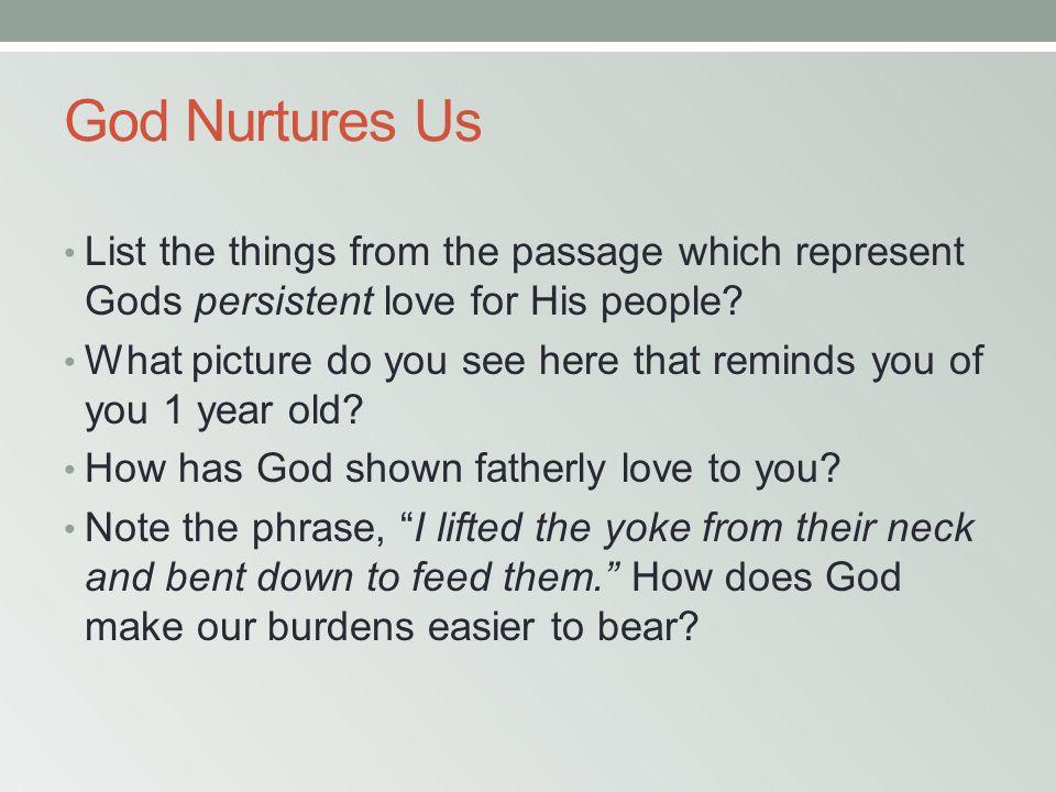 GOD LOVES LIKE A GRAND FATHER February 20