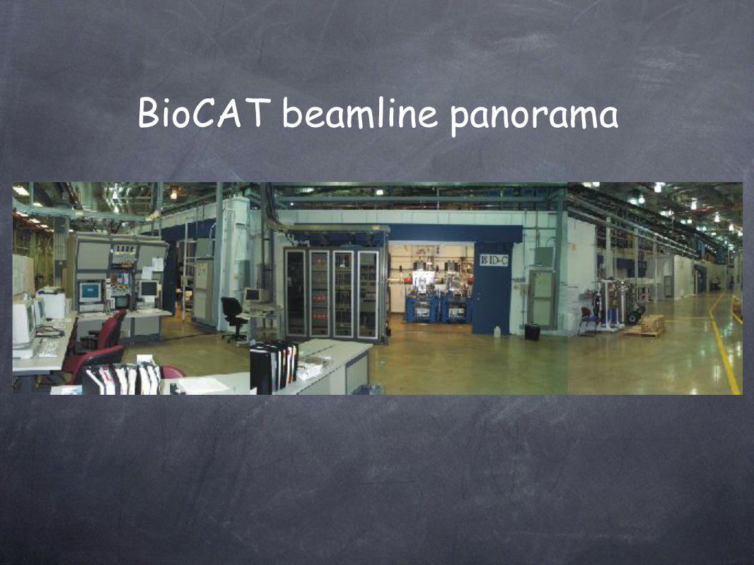 BioCAT beamline panorama