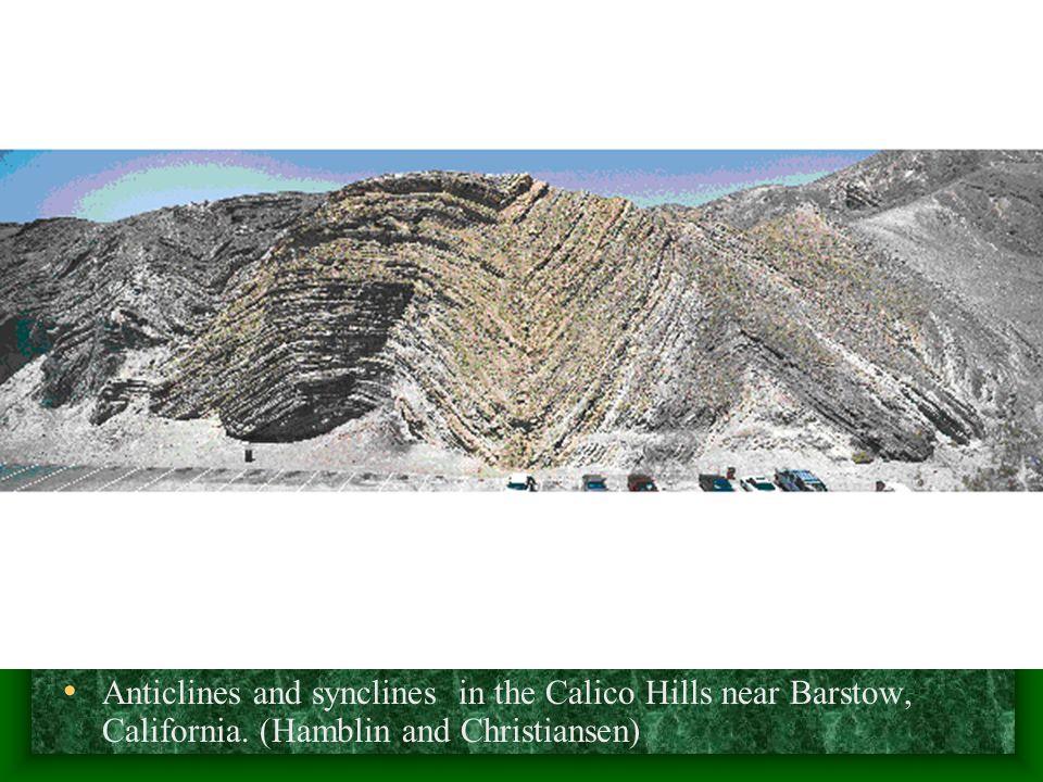 (Top) The San Rafael monocline, Utah.(S.