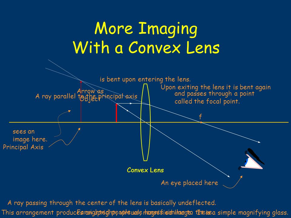 Imaging with a Convex Lens sees an image here.
