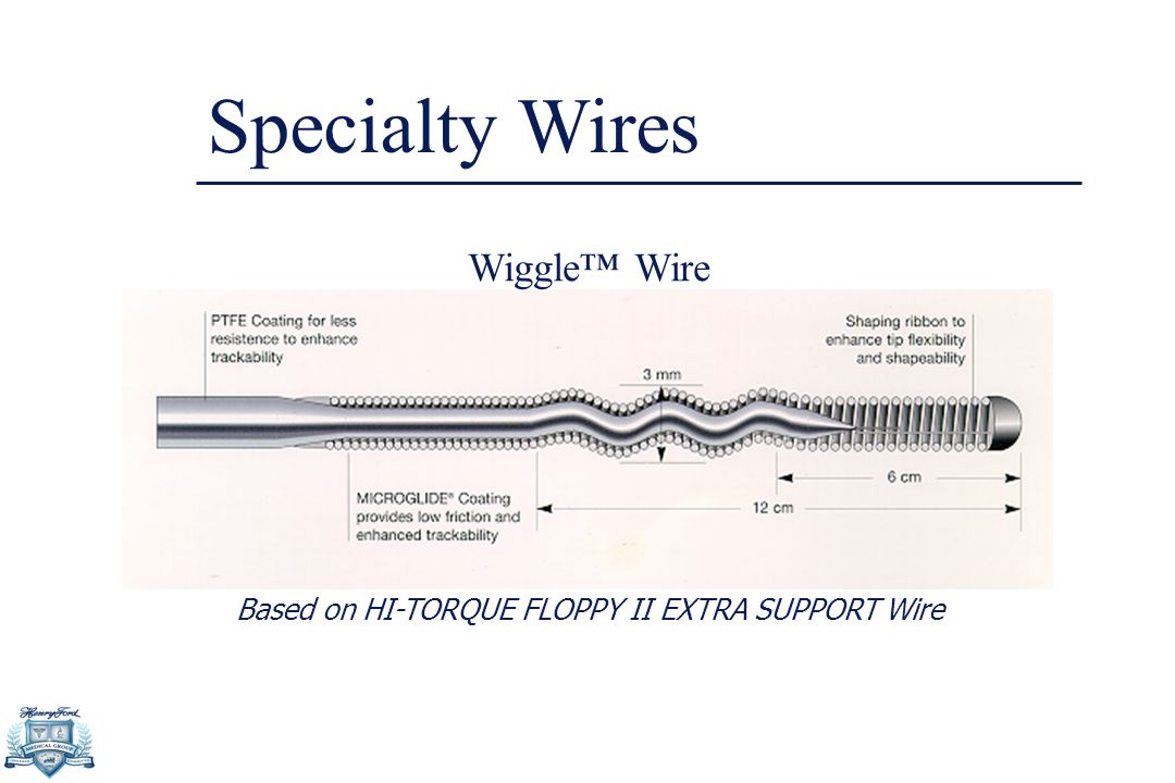 Based on HI-TORQUE FLOPPY II EXTRA SUPPORT Wire Specialty Wires Wiggle™ Wire