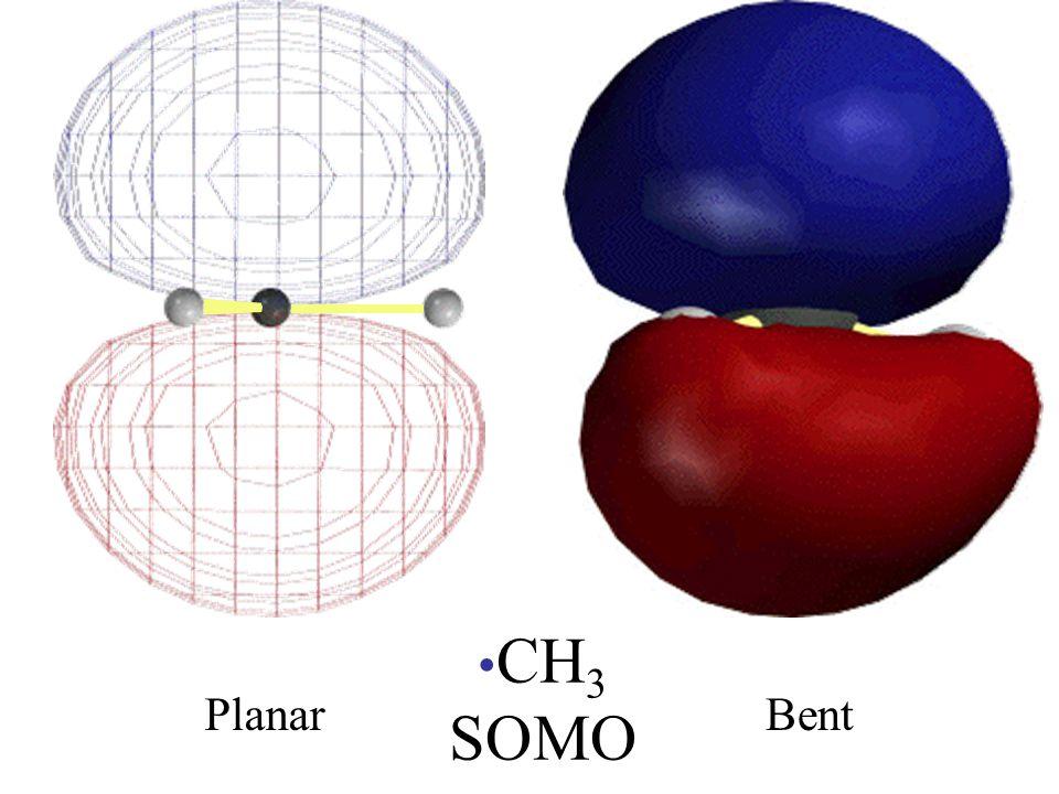 CH 3 SOMO PlanarBent