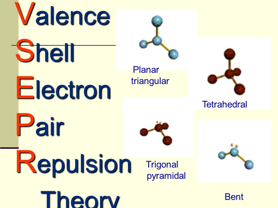 VSEPR THEORY: Example: BF 3 1) Central Atom?  B (only 1 atom)