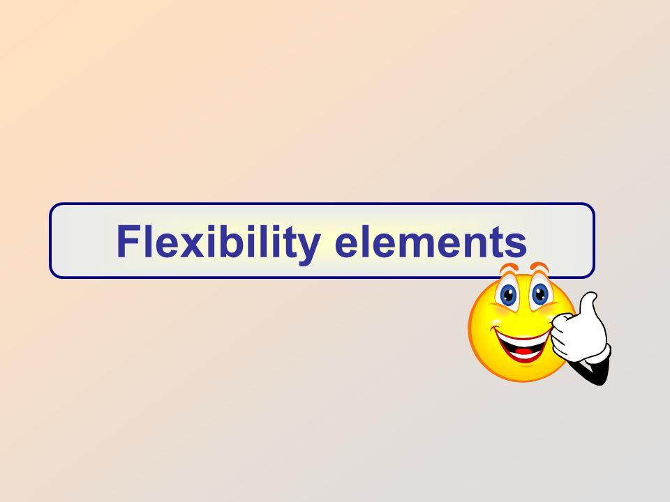 Flexibility elements