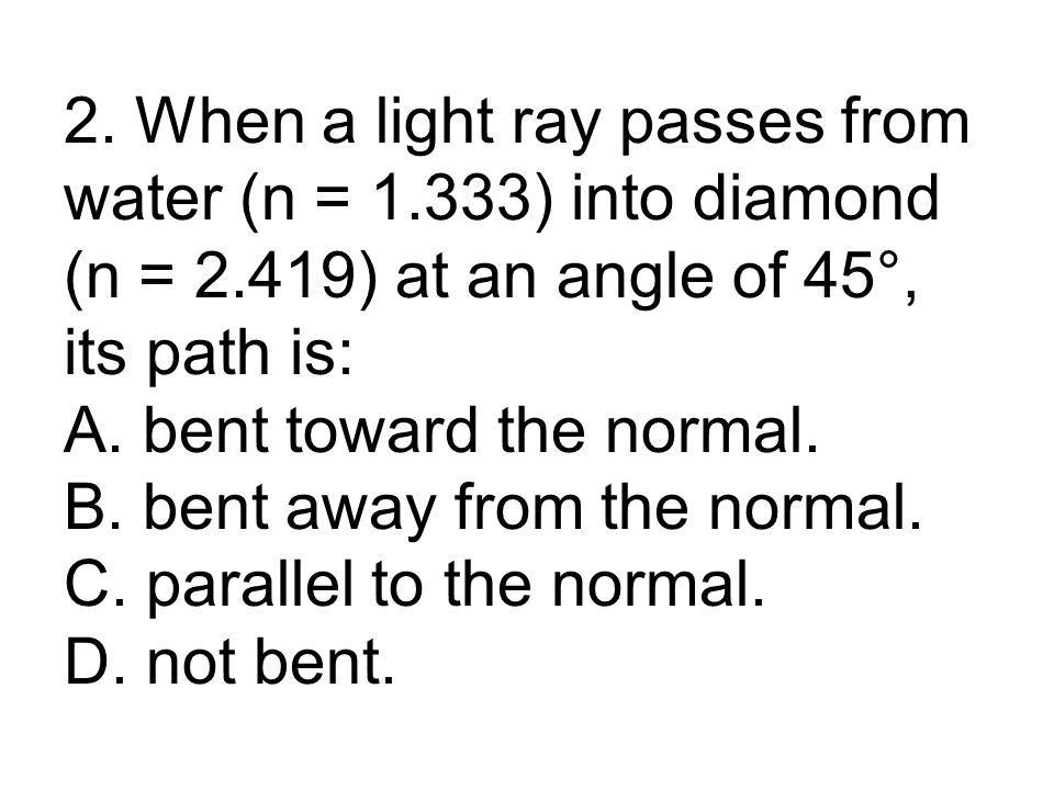 h i / h o = d i / d o h i / 5 cm = 4.8 cm / 3 cm h i = 8 cm, mag = 1.6
