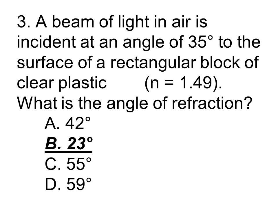 h i / h o = d i / d o h i / 4 cm = 2.54 cm / 7 cm h i = 1.45 cm, mag = 0.36