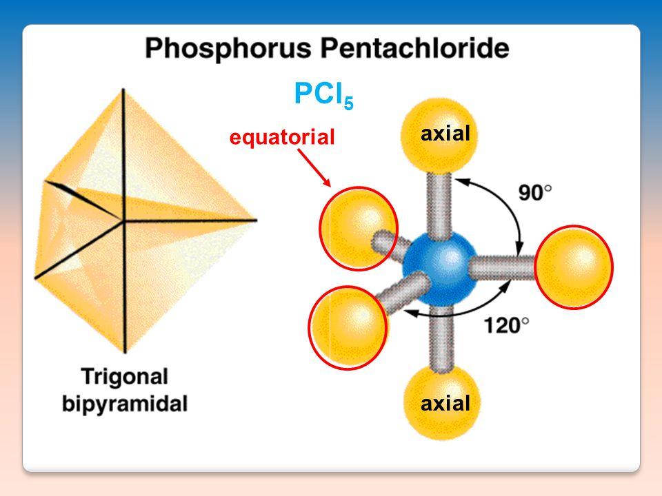 equatorial axial PCl 5