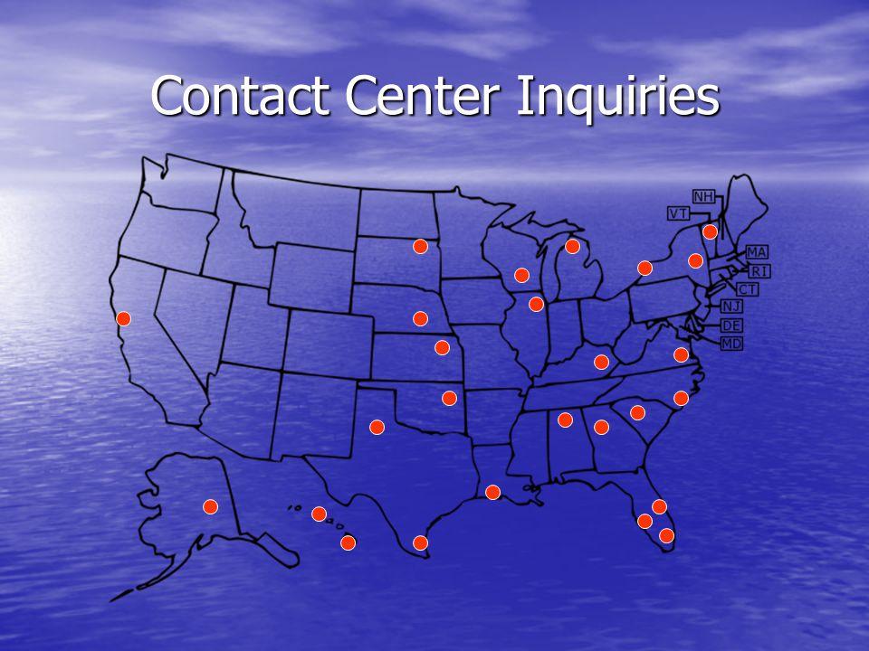 Contact Center Inquiries