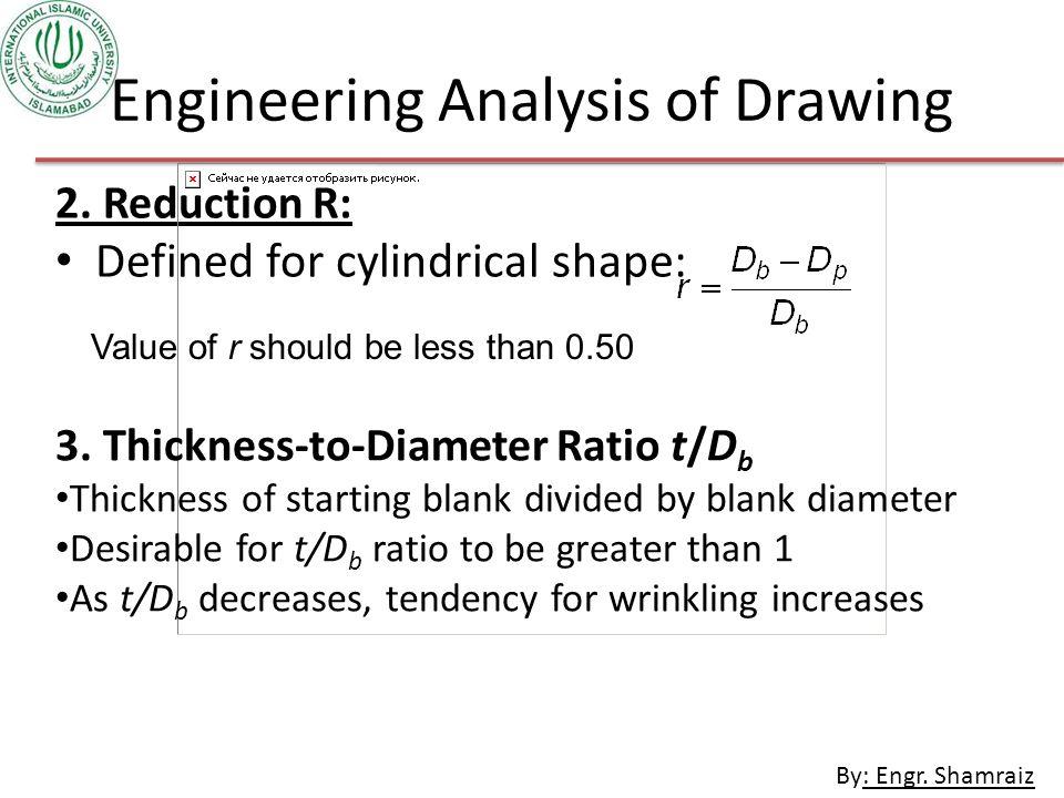 By: Engr.Shamraiz Engineering Analysis of Drawing 2.