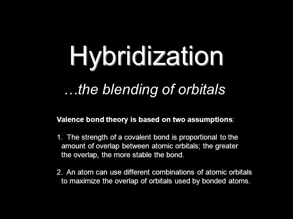 Hybrid Orbitals 2s2s2p2p Ground-state B atom s pxpx pypy pzpz Energy sp 2 2p2p B atom of BH 3 orbital diagram hybridize s orbital 2s2s2p2p B atom with