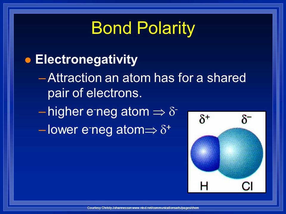 Types of Chemical Bonds Copyright © 2006 Pearson Education Inc., publishing as Benjamin Cummings