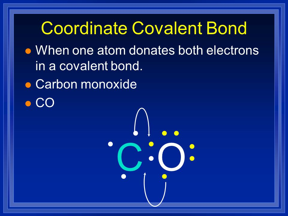 Structural Examples H CN C O H H l C has 8 electrons because each line is 2 electrons l Ditto for N l Ditto for C here l Ditto for O