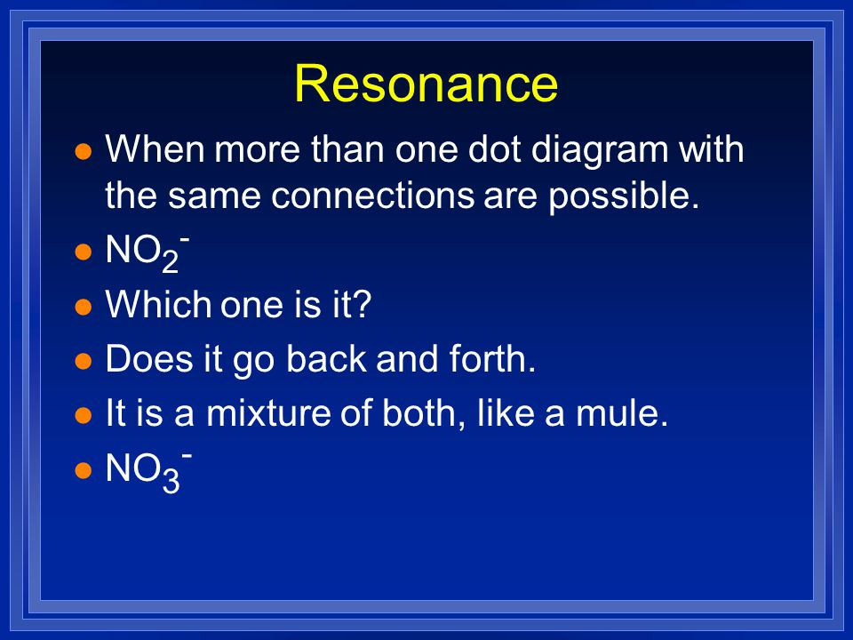 How do we know if l Have to draw the diagram and see what happens. l Often happens with polyatomic ions and acids.