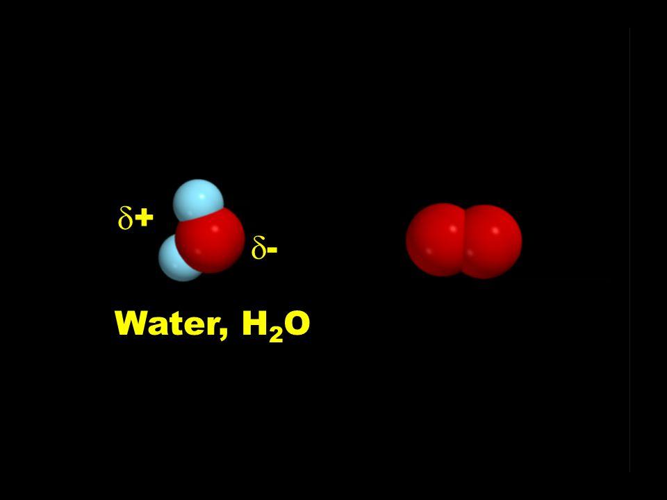 Water, H 2 O