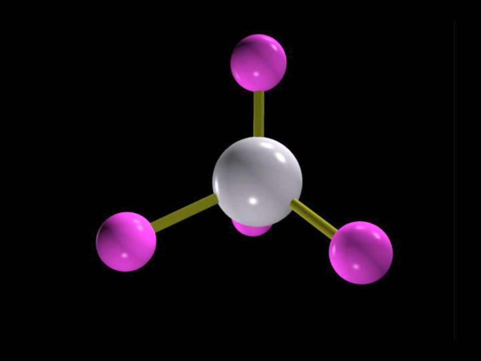 However, they quickly recognized a problem with such an arrangement… Three of the carbon-hydrogen bonds would involve an electron pair in which the carbon electron was a 2p, matched with the lone 1s electron from a hydrogen atom.