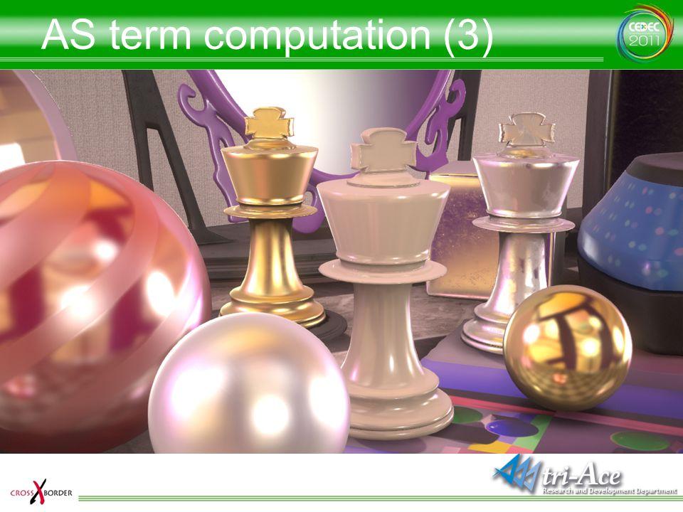 AS term computation (3)