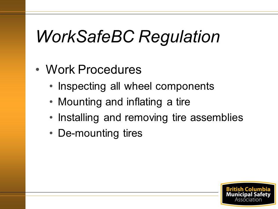 Responsibilities Workers Follow safe work procedures