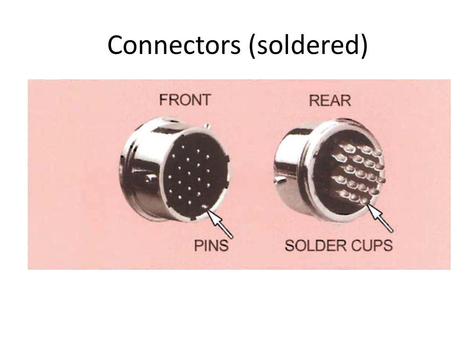 Connectors (soldered)