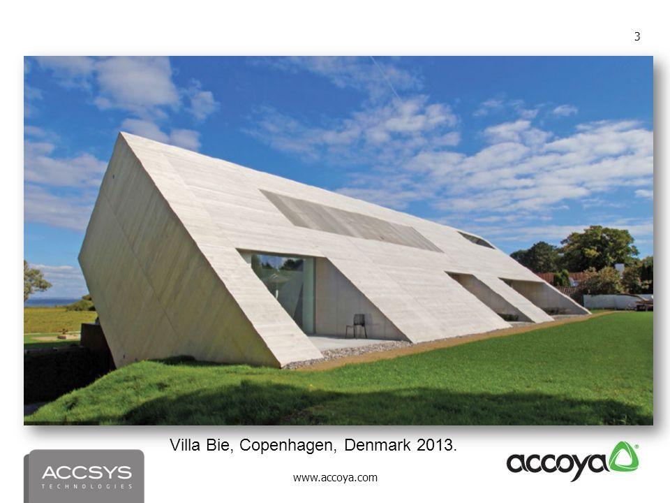 www.accoya.com 3 Villa Bie, Copenhagen, Denmark 2013.