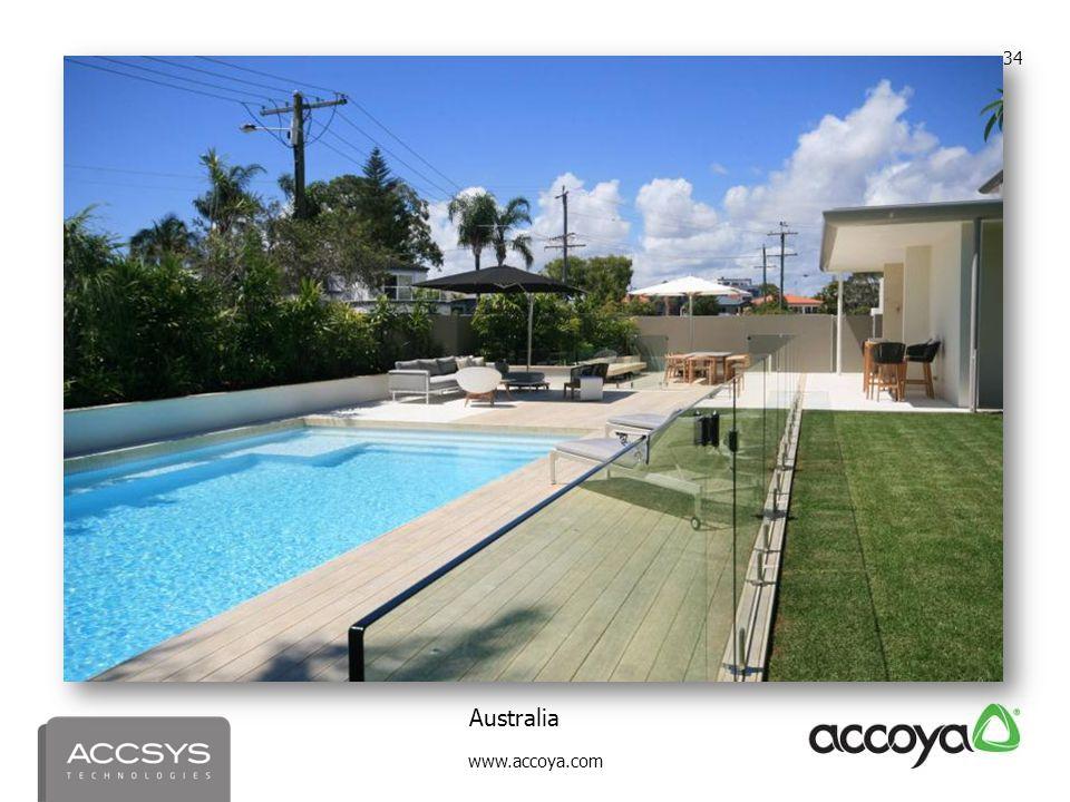 www.accoya.com 34 Australia