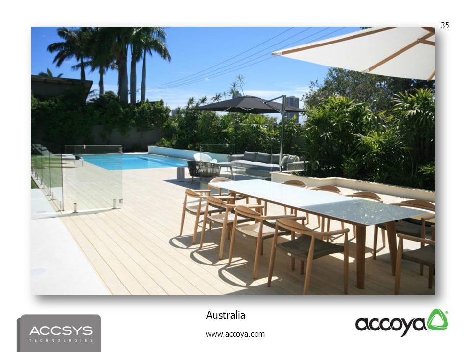 www.accoya.com 35 Australia